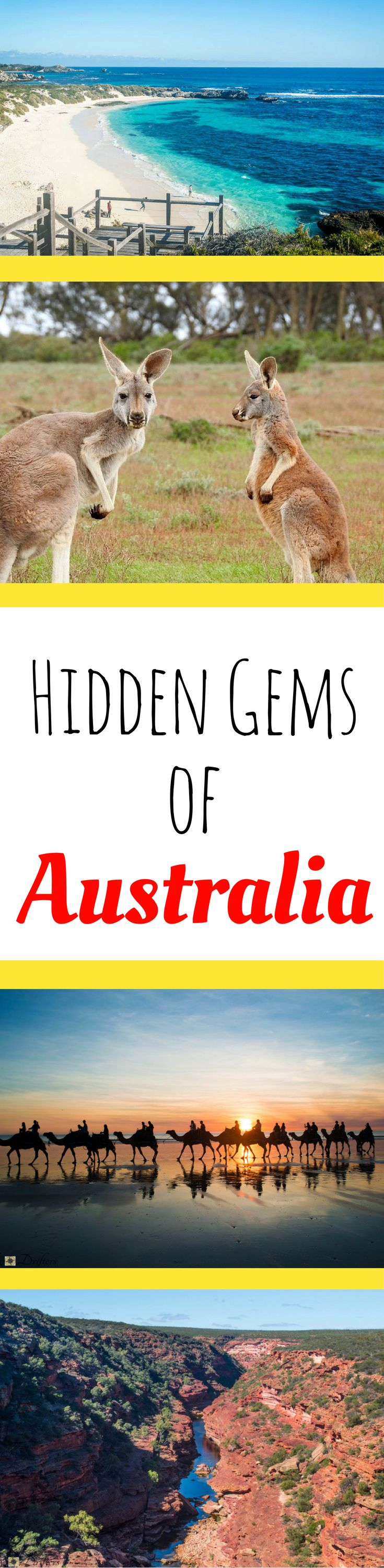 Hidden gems of Australia | Secret spots Australia | Australia travel guide | Where to go in Australia | What to See in Australia | Australia top sites