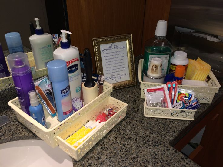 The 25 Best Wedding Toiletry Basket Ideas On Pinterest