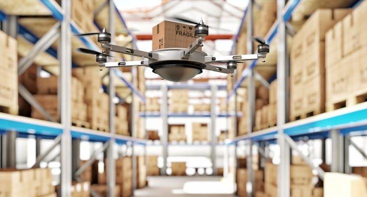 Inventari automatizzati grazie ai #droni e ai codici #QR | di Todd Penny