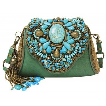 """Monterey"" #festivalfashion #turquoise #maryfrances www.maryfrances.com"