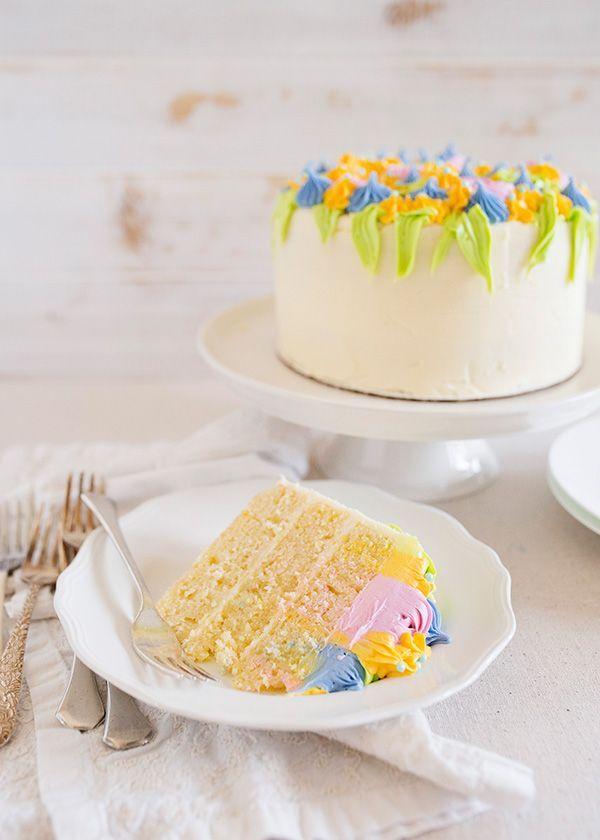 Lemon Buttermilk Layer Cake In 2020 No Bake Cake Cake Varieties Yummy Cakes
