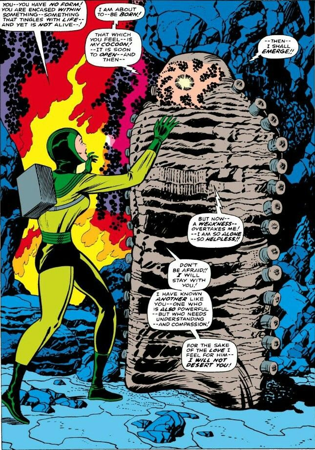 The Cocoon by Jack Kirby