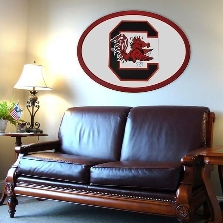 South Carolina Gamecocks 46-inch Carved Wall Art, Multicolor