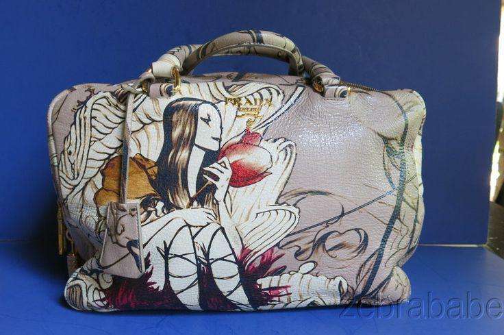 Prada Fairy Handbag Purse James Jean Design Limited Edition RARE ...