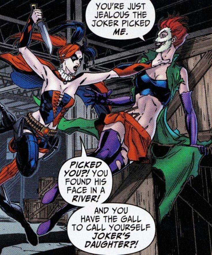 Harley Quinn vs Duela Dent.