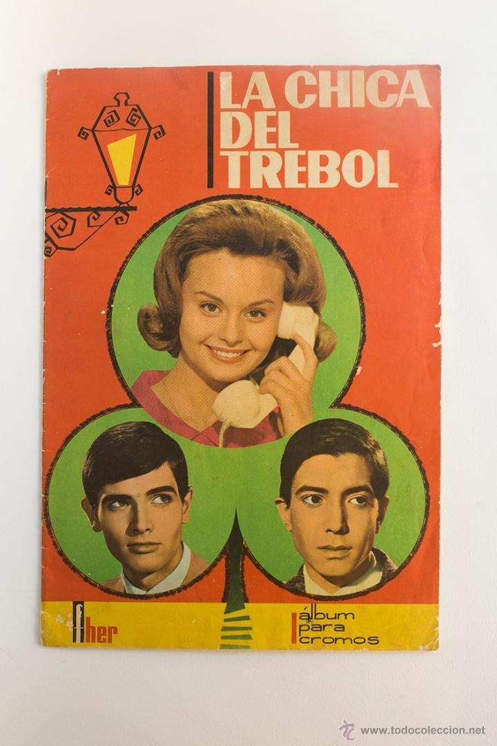 Álbum La Chica del Trebol, Rocío Durcal- Con 155 Cromos. Fher 1964-  http://eldesvandebartleby.es/