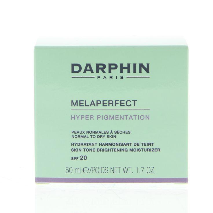 Darphin Face Care Cream Melaperfect SPF20 Crème Pigmentvlekken 50ml  Description: Darphin Face Care Cream Melaperfect SPF20 Crème Hyper Pigmentatie. Een zijdezachte emulsie met de kracht om donkere vlekken te vervagen de huid te hydrateren en de huidteint te egaliseren. Voor een mooiere en egalere huid. Bevat SPF20. Gebruik: Aanbrengen op een schone huid.  Price: 50.40  Meer informatie