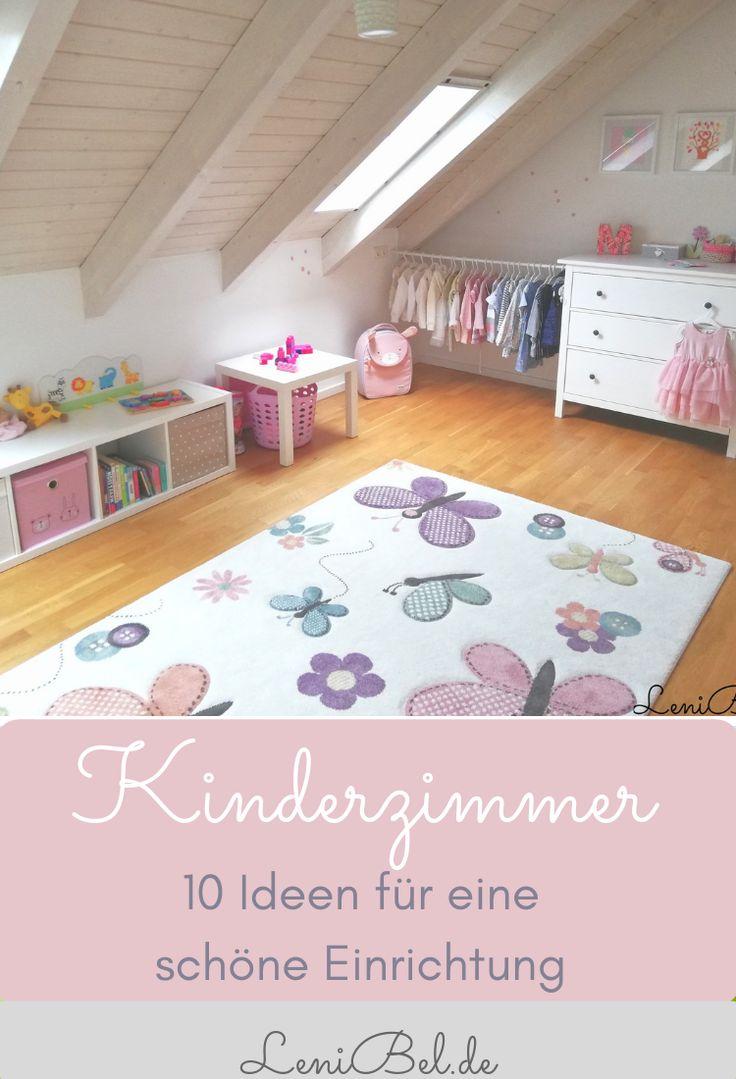 Kinderzimmer einrichten – 10 Tipps und Ideen für die Gestaltung