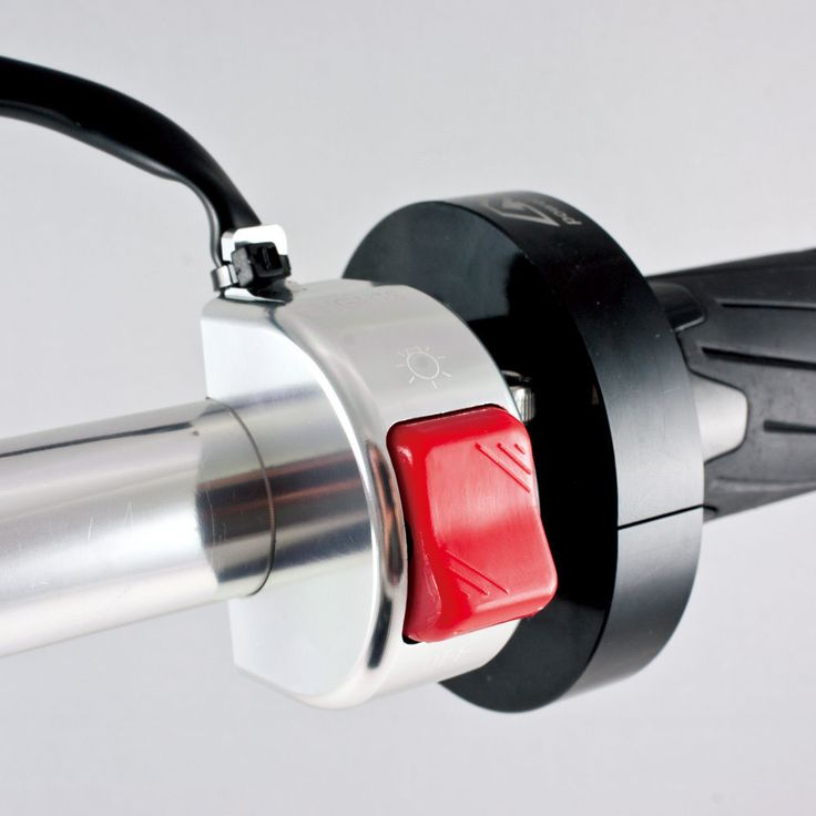 """motorcycle light switch chrome aluminum 12v DC electrical system 7/8"""" bar ε #Magazi"""