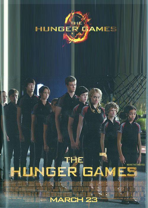 tribute poster.Hungergames