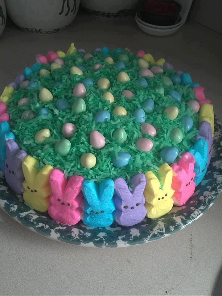 Easter cake-Noms!