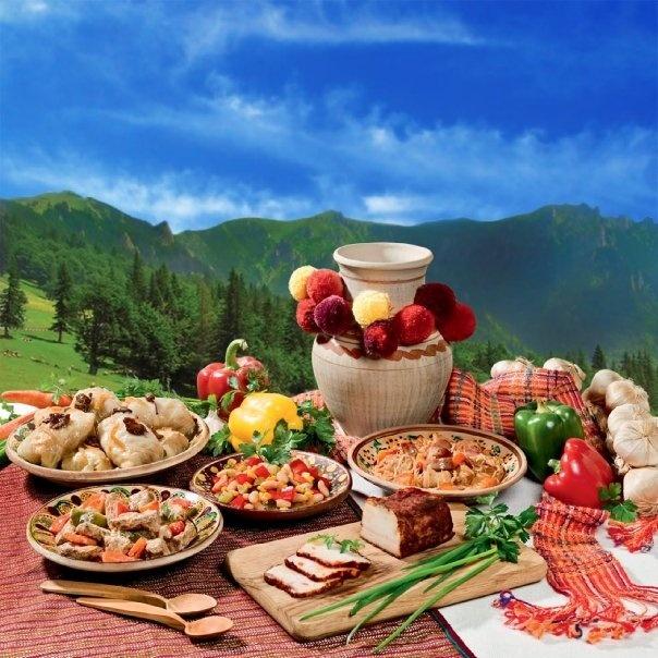 Typical Ukranian feast, lol.