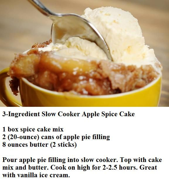 Apple Cobbler With Cake Mix