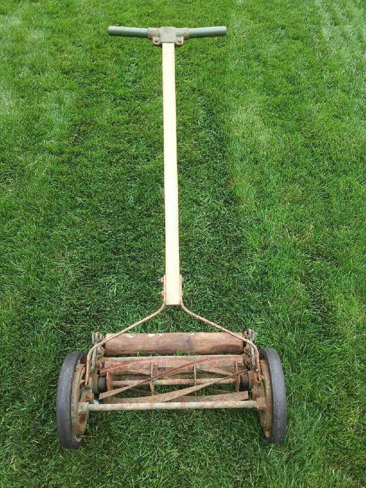 Hand Mower Old Fashioned