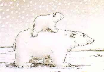 Cute polar bear clip art free clip art image 2
