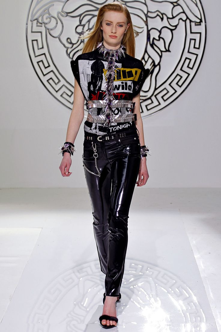chrome hearts t shirt sizing guidestar compensation report Versace Fall 2013 Ready to Wear Collection Photos   Vogue