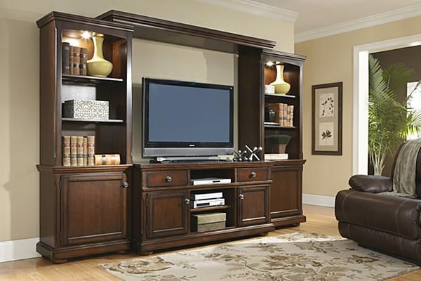 The Porter Entertainment Center From Ashley Furniture