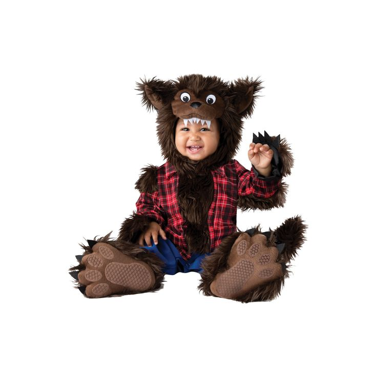 Halloween Boys' Wee Werewolf Toddler Costume 6-12 Months, Size: 6-12 M, Multicolored