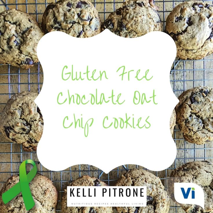 May is Celiac Awareness Month! Celebrate the cause by baking these AMAZING Gluten Free Chocolate Oat Chip Cookies by our very own Health Team Member, @kellipitrone RDN! YUM! #vivantehealth http://bit.ly/VivanteFreeTrial #donthateyourguts #Celiac #CeliacDisease #CeliacAwareness #CeliacAwarenessMonth #GlutenFree #Recipe #Recipes #Cookies #chocolate  #ChocolateCookies
