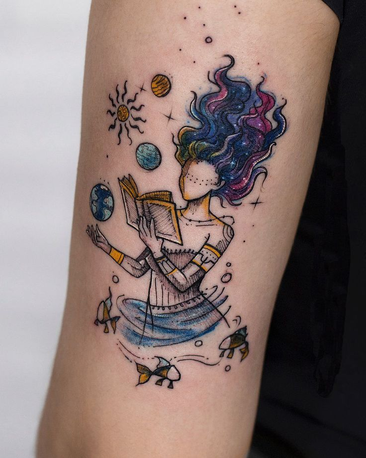 Watercolor Tattoos Will Turn Your Body into a Living Canvas – miiola