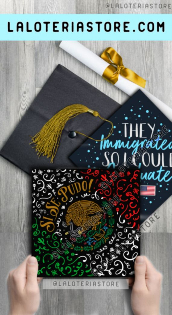 Best Ideas Graduation Cap Latina - mexican #highschoolgraduation #high #school #graduation #pics