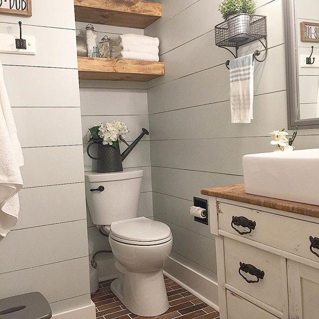Shiplap Bathroom Vanity: Best 25+ Brick Tile Floor Ideas On Pinterest