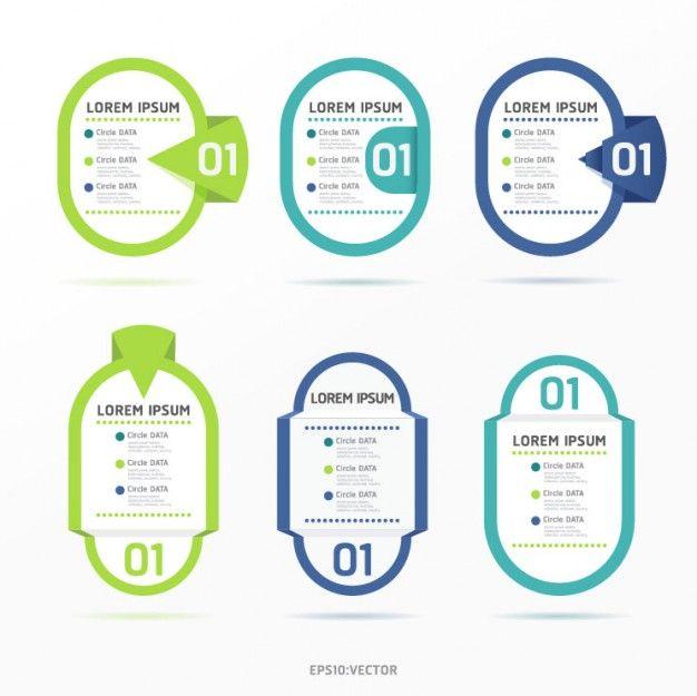 Gratis creativo etiqueta colorido diseño de vectores | Vector Descarga gratuita