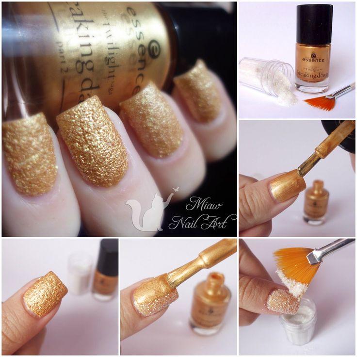 diy liquid sand nail polish