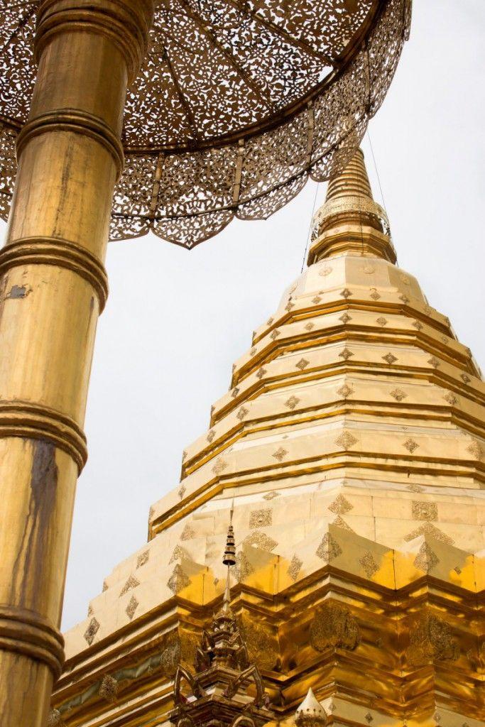Visiting Doi Suthep: Windy roads and golden buddhas