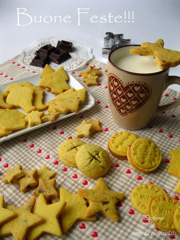 Profumo di cannella e cioccolato: Tanti auguri e i biscotti per Babbo Natale..