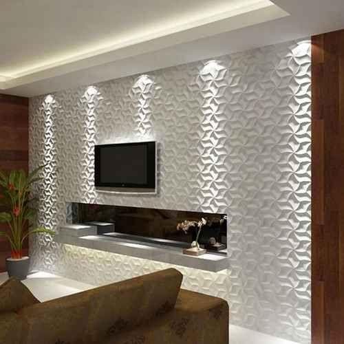 Painel Para Sala 50 Modelos Incr 237 Veis Decora 231 227 O De Casa Saladas Em 2019 Tv Wall Decor