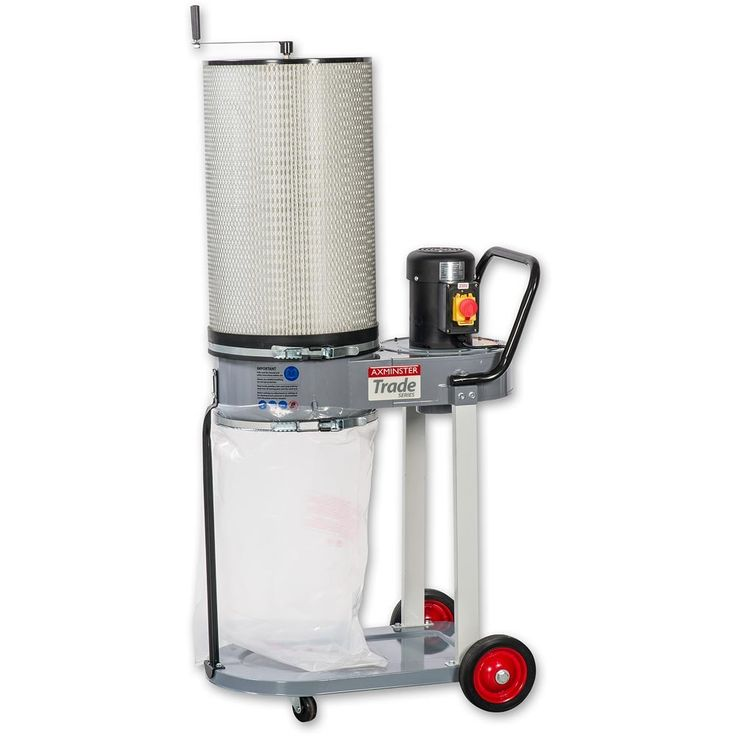 Axminster Trade Series CT-90H Extractor - Chip Extractors - Dust Extractors - Machinery | Axminster Tools & Machinery