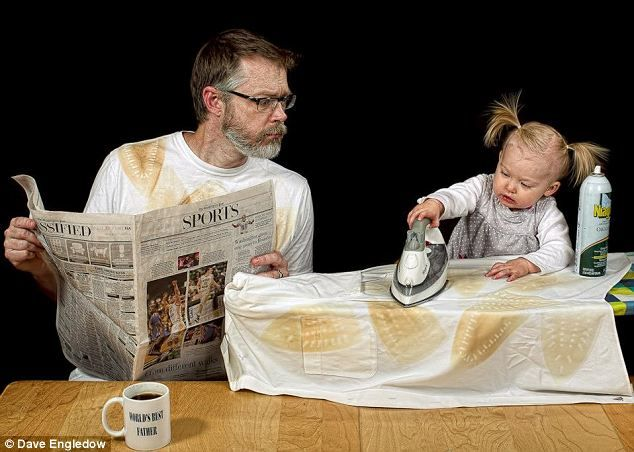 Look through all of these! A dad photoshops funny pictures with his daughter! SUPER CUTE AND SUPER FUNNY!