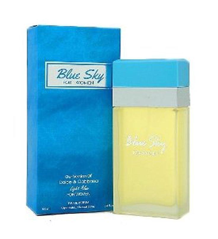 Free Shipping~! Blue Sky Perfume for Women-Our version of Dolce & Gabbana Light Blue 100ml (Impression Perfume/Imitation Perfume)