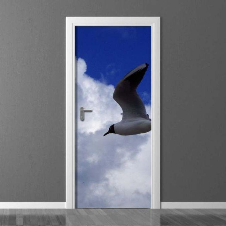 Fototapeta na drzwi Wally #wally #wallpaper #doors #homedecor #homedecoration #homeinspiration #doordecor #inspiration #decoration #interior #design #interiordesign