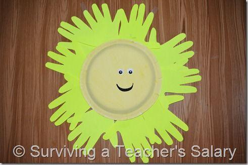 sun #craft for kids