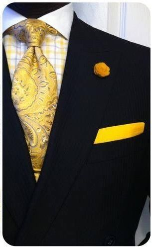 Welcome spring with bold gold...