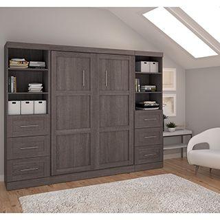 Bestar Nebula Full Wall Bed - 17002319 - Overstock.com Shopping - Great Deals on Bestar Beds