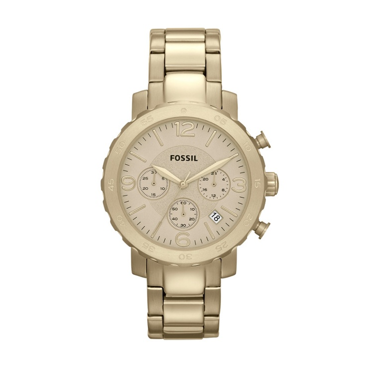 FOSSIL® Watch Collections Natalie Watches:Women Natalie Stainless Steel Watch – Gold-Tone AM4422