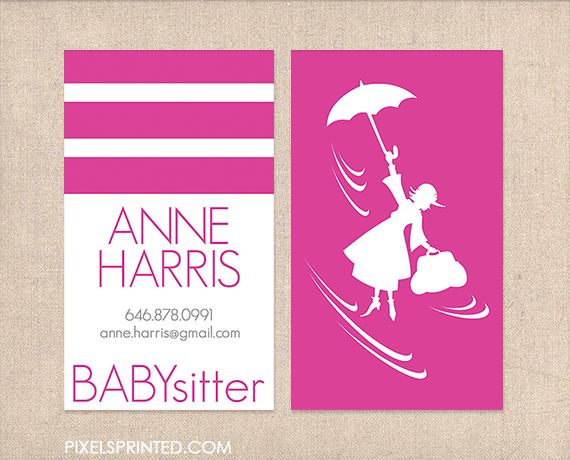 88 best business cards images on pinterest teacher business cards babysitter business cards nanny business cards au pair business cards child card business fbccfo Image collections