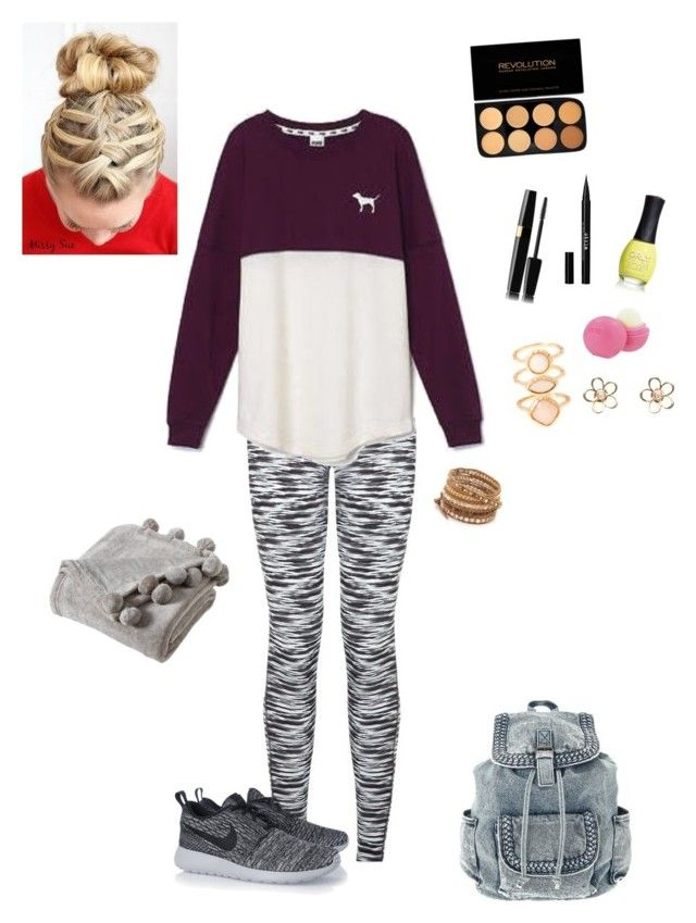 Back Too School Test By Garaff Liked On Polyvore Featuring Victoria 39 S Secret Nike Chan Luu