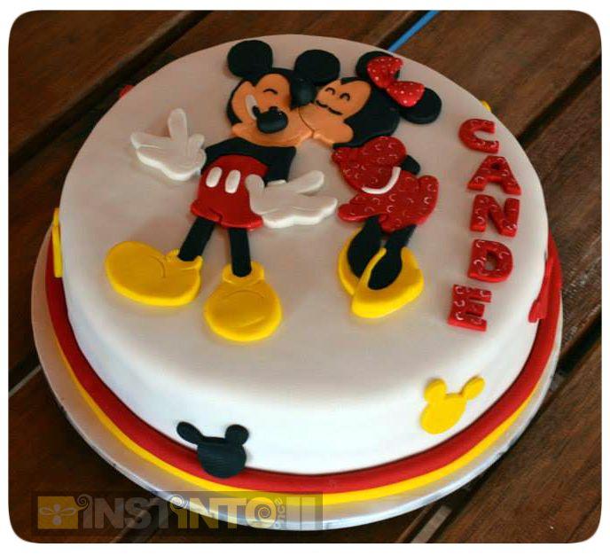 Torta de cumpleaños Minie Mouse