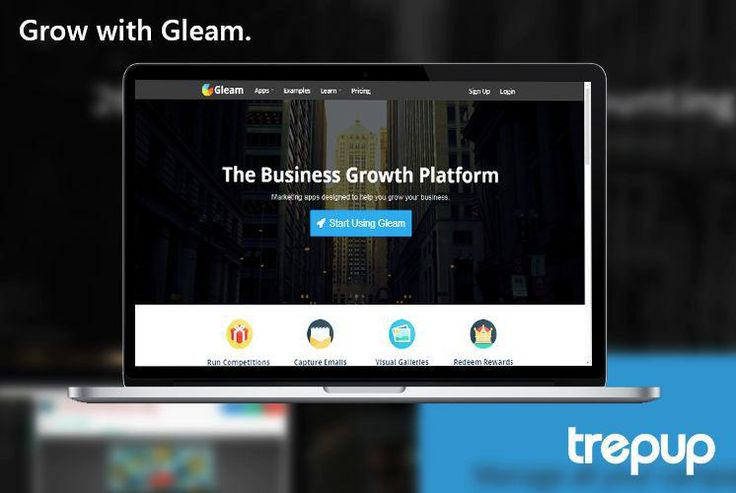 Add another marketing hack to your business with Gleam. Make the plan, sit back and watch it get executed. http://bit.ly/1Rmq8zn