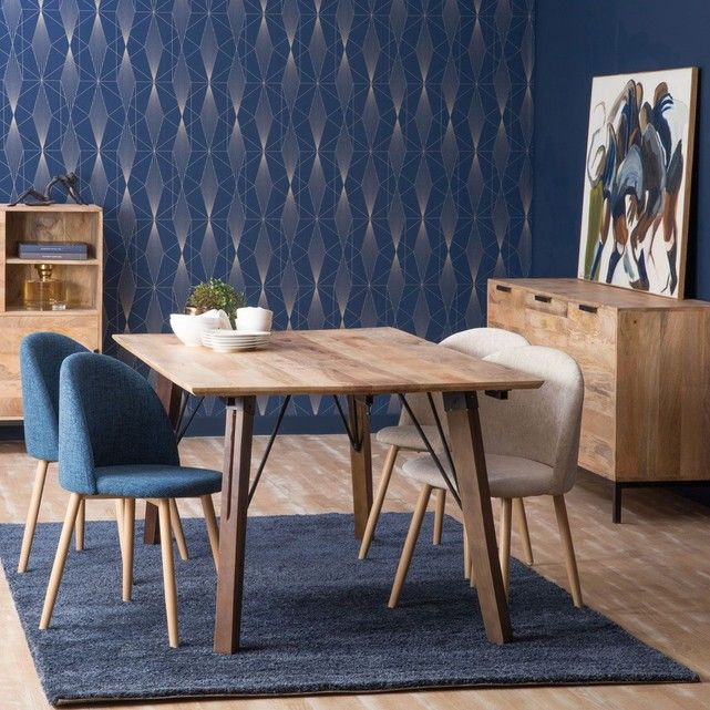 chaise scandinave pietement retro