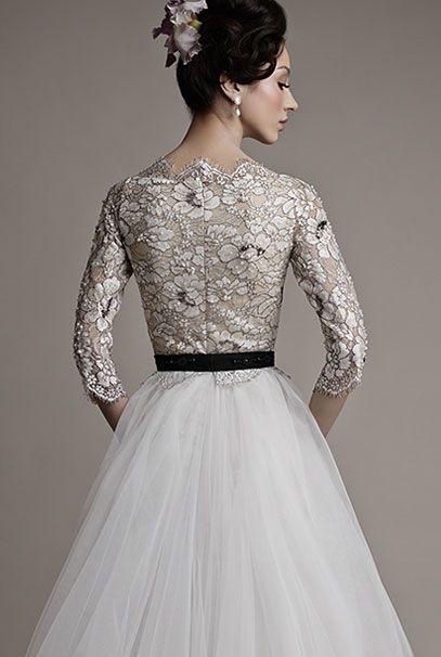 Ersa Atelier 2015 свадебные платья Kahina