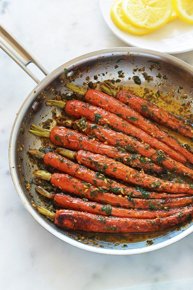 Carottes En Sauce Chermoula Recette Facile Rapide Recette