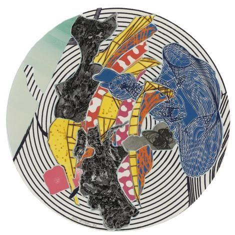 Frank Stella, Egyplosis and Orofena on ArtStack #frank-stella #art