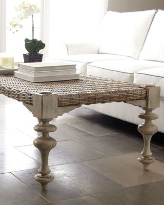 Refined coffee table for the perfect Coastal home