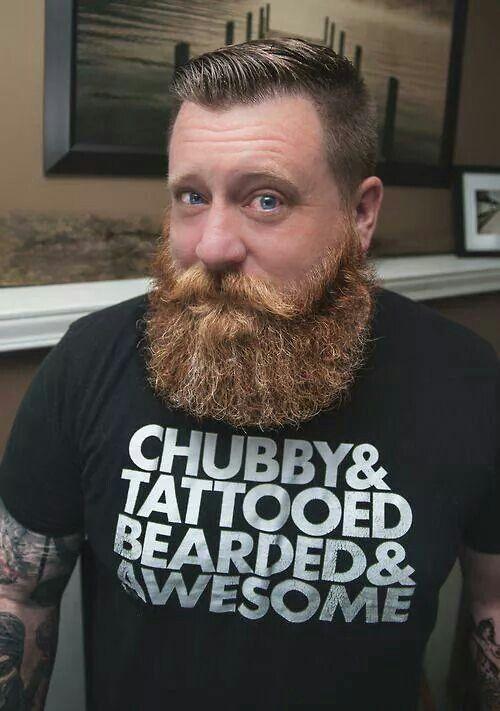 Chubby Amp Tattooed Bearded Amp Awesome Beards Amp Grooming