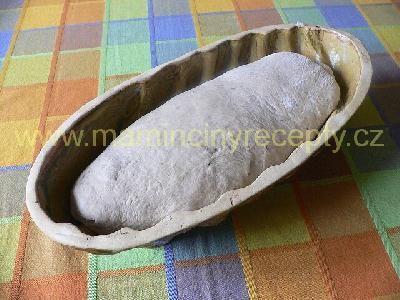 Kváskový chléb špaldový